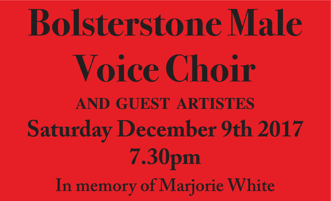 BOLSTERSTONE MALE VOICE CHOIR